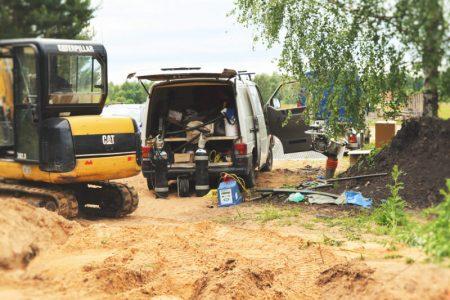 Gāzes apgādes pieslēguma būvniecība